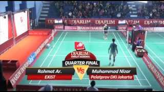 Rohmat Ar (EXIST) VS Muhammad Nizar (Pelatprov DKI JAKARTA)