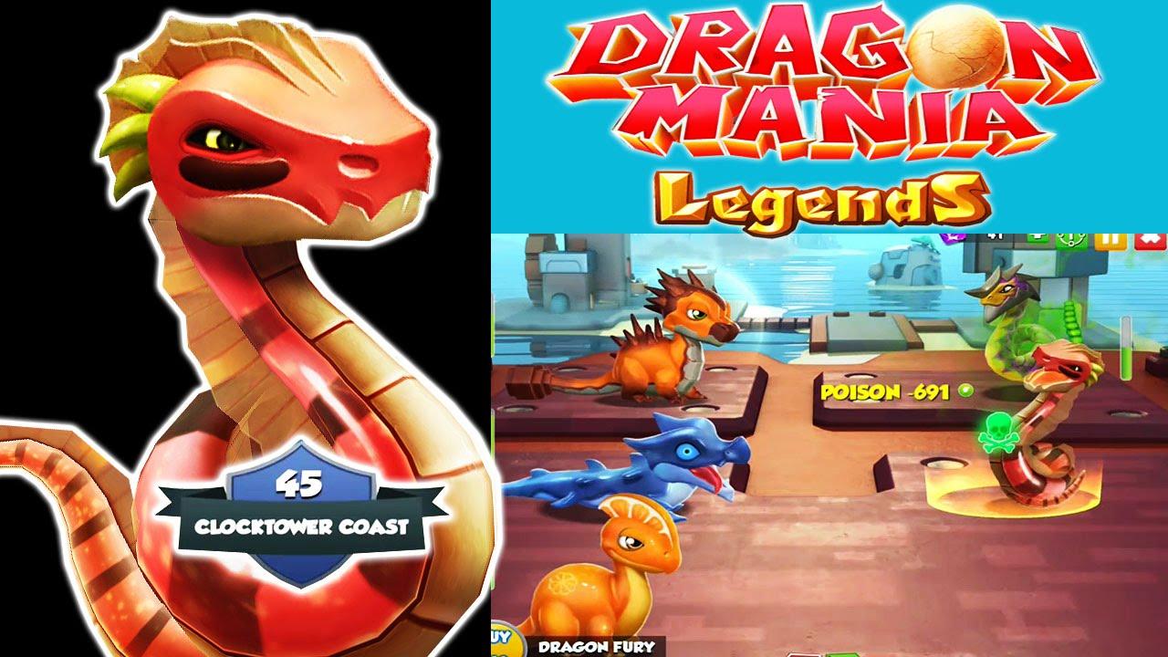 Dragon Legends: Dragon Mania Legends (Gameloft) : Defeating Toxic & War
