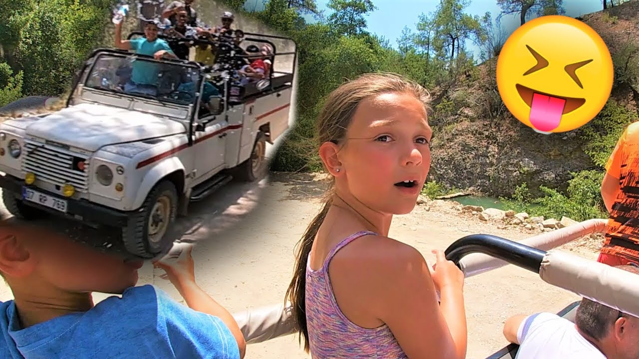 VLOG: Springen Van WATERVAL - Jeep Safari