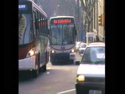 """Montevideo Travel"" Avda. Libertador Gral. Lavalleja Streets of Montevideo Uruguay"