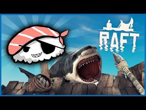 PIRAT-SUSHI! - Dansk Raft #4
