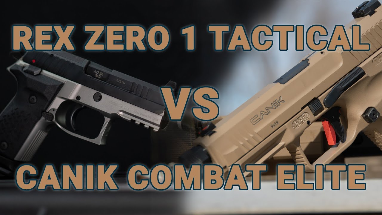 Gun Review: Rex Zero 1 vs Canik TP9 Elite Combat (VIDEO)