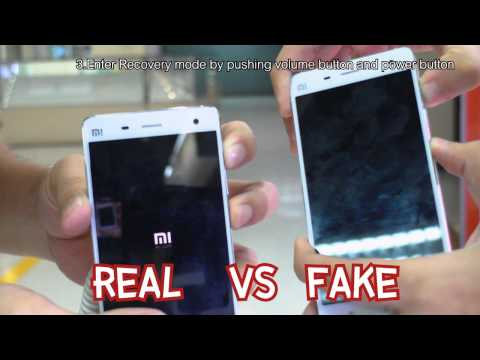 How to see real or fake xiaomi mi4