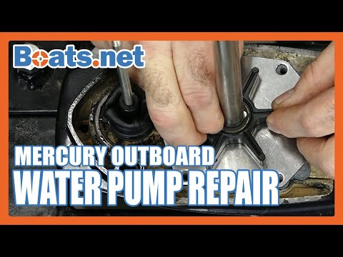 How to Replace a Water Pump on a Mercury 40 | Mercury 40HP 2- Stroke Water Pump Replacement