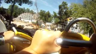 The Arnolds Park Amusement Park Spider ride!