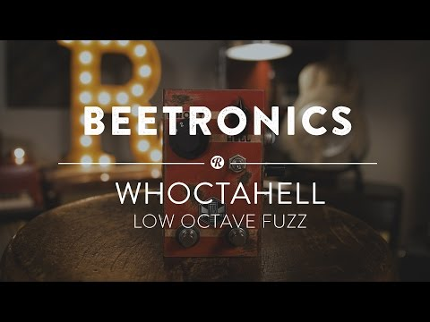 Beetronics WhoctaHell Low Octave Fuzz | Reverb Demo Video