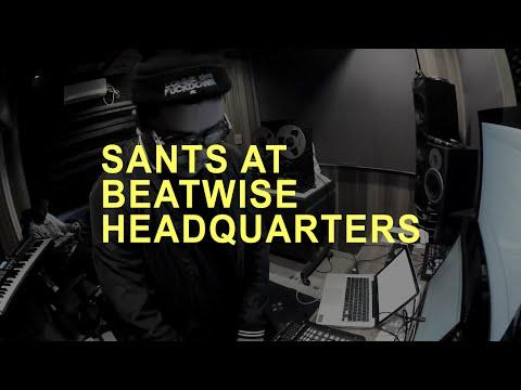 SANTS AT BEATWISE HEADQUARTERS