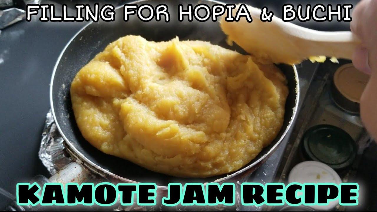 KAMOTE JAM FILLING FOR HOPIA & BUCHI