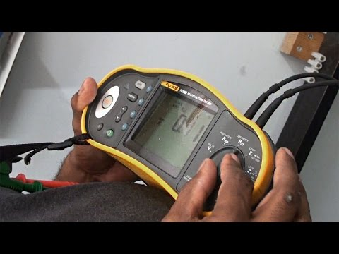 Testing Continuity Of A Ring Final Circuit