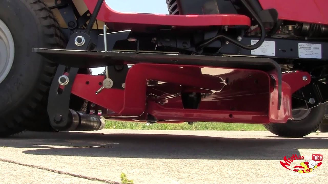 How To: Remove a Simplicity Lawn Mower Deck