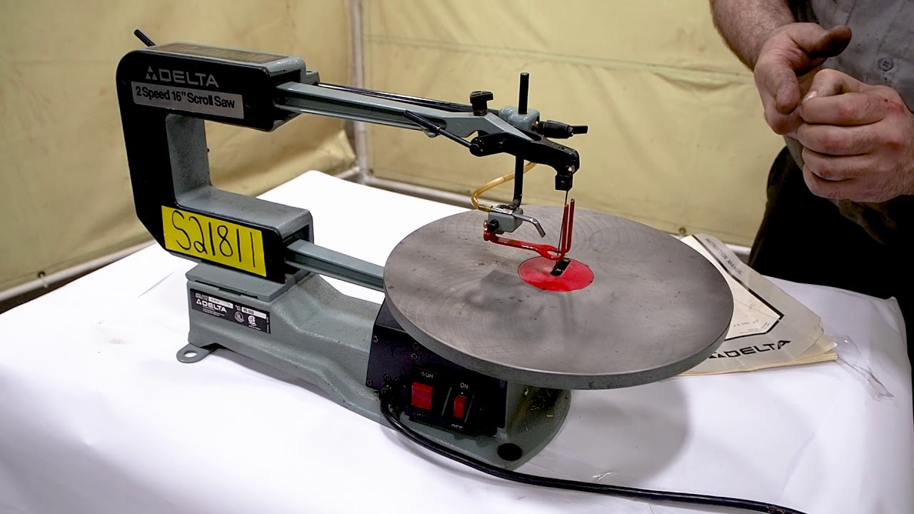 Delta 16 scroll saw 2 speed model 40 560 youtube delta 16 scroll saw 2 speed model 40 560 keyboard keysfo Choice Image