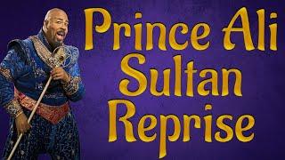 Prince Ali Sultan reprise Aladdin backing track karaoke instrumental