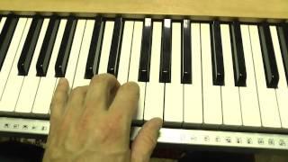 Уроки игры на фортепиано: упражнение на развитие пальцев