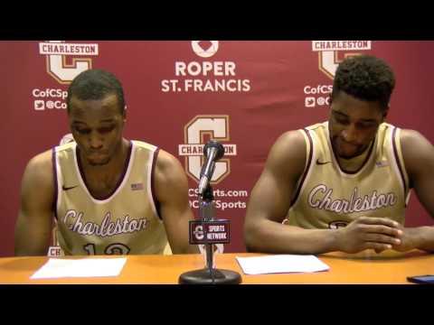 CofC Men's Basketball vs. JMU - Post Game Interview