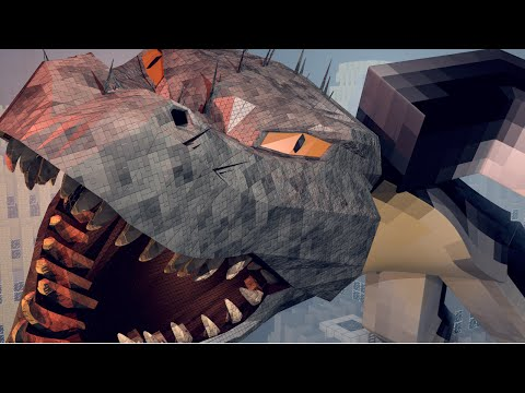"Minecraft   Crazy Craft 3.0 - Ep 76! ""I AM GODZILLA"""