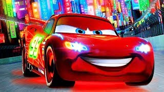 Repeat youtube video Cars 2 HD ENGLISH Disney Pixar Lightning McQueen - Mater Gameplay