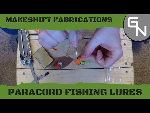 How To Make Simple Paracord Fishing Lures
