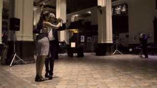 Argentine Tango Dance Music Video Sophia in Sapphire San Francisco