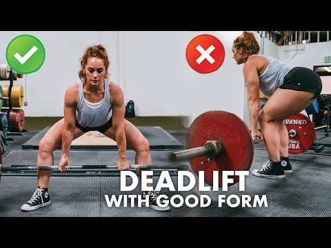 Deadlift With Proper Form Ultimate Help guide to Deadlifting Securely