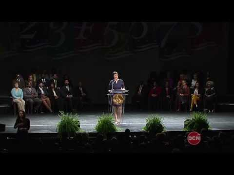 Mayor Muriel Bowser's State of the District Address (Abridged Version) 3/31/15
