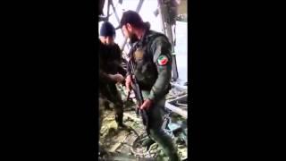 Чеченцы в аэропорту Донецка! Смотреть кто воюет на Украине!   Чеченцы на Украине, Видео 19 01 2015