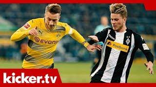 Das Beste zum Jahresabschluss - BVB gegen Gladbach | kicker.tv