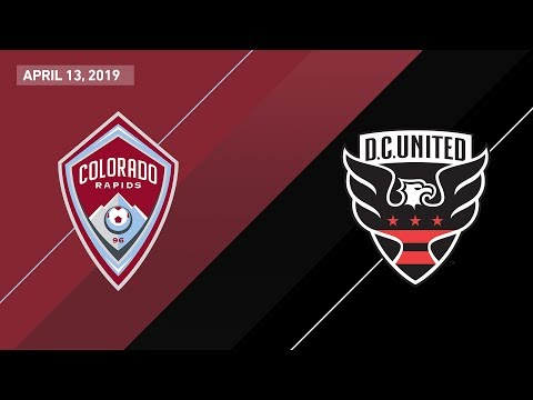 Colorado Rapids vs. D.C. United | HIGHLIGHTS - April 13, 2019