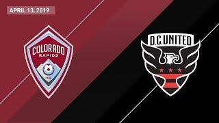 Colorado Rapids vs. D.C. United   HIGHLIGHTS - April 13, 2019