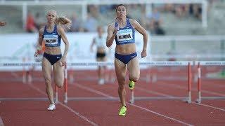 Women's 400m Hurdles at Memorial Josefa Odlozila 2019