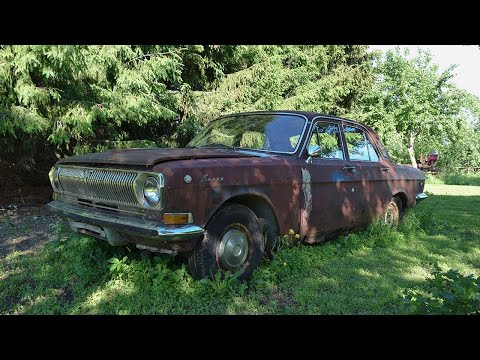 Starting GAZ-24 After 16 Years + Test Drive