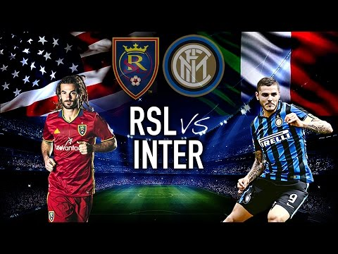 Real Salt Lake vs Inter Milan