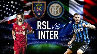 Video Gol Pertandingan Real Salt Lake vs Inter Milan