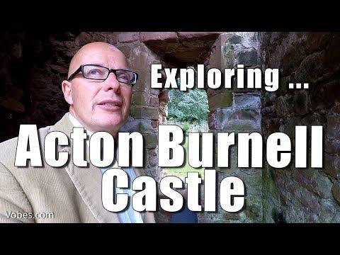 Walks in Shropshire: Acton Burnell Castle