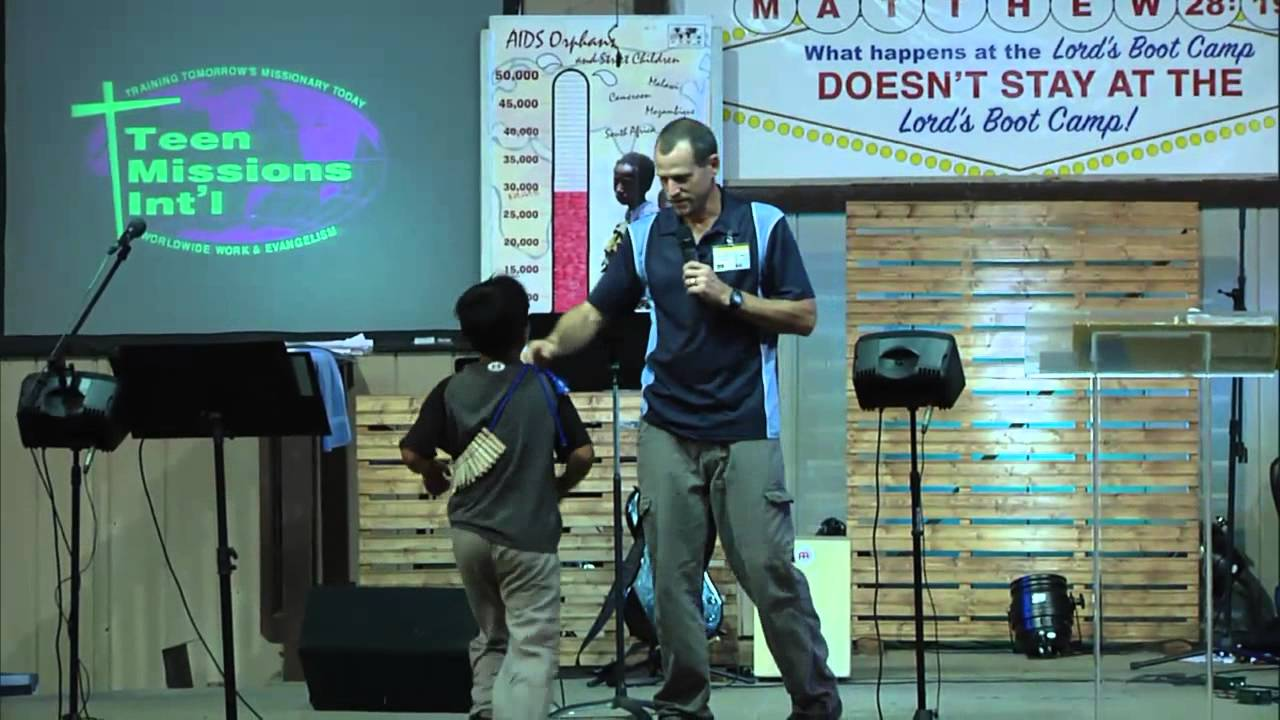 Teen Missions 2nd Boot Camp Rally - YouTube