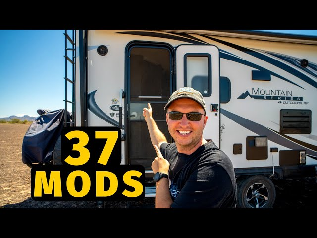37 RV MODS & UPGRADES we have done in 2 years of Full Time RV Living