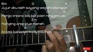 Wegah Kelangan - Acoustic Version - Cover By EasyChord | Chord/kunci Gitar Mudah Pemula