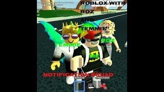 roblox with Roz and temmie