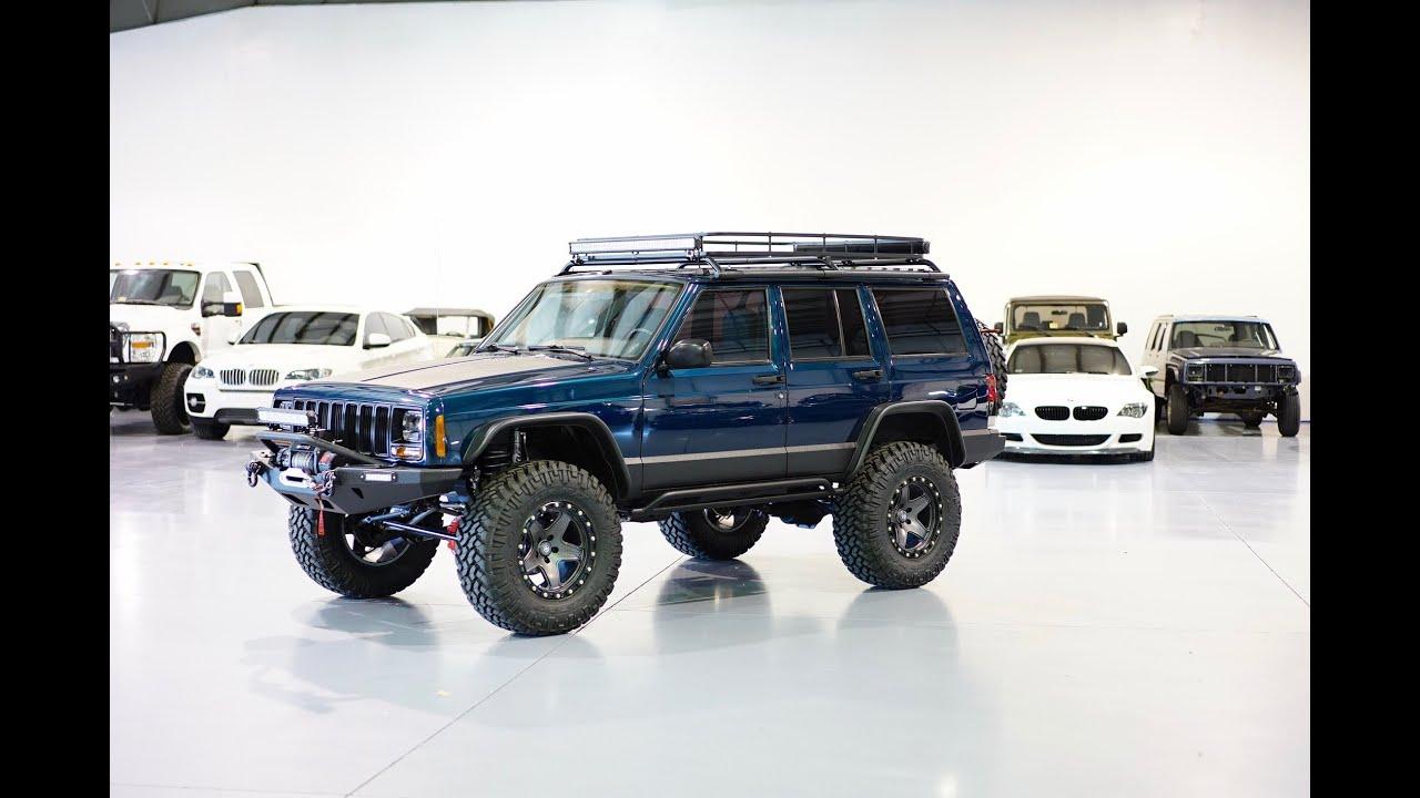 Jeep Rubicon For Sale >> Davis AutoSports CHEROKEE XJ STAGE 6 BUILD FOR SALE / FOX / RUBICON / ARB / GEARS - YouTube