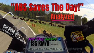 """ABS Saves The Day!"" Analyzed @ Ridge Motorsports Park 