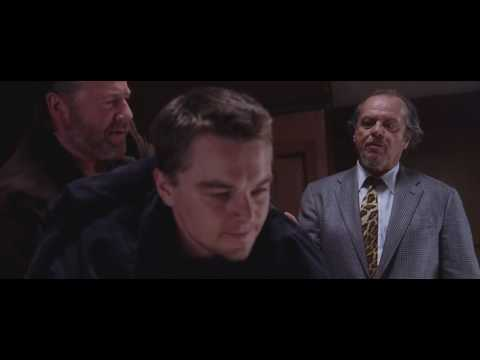 The Departed (2006) - Leo meets (Billy) Jack Nicholson (Costello) in the bar scene [HD 1080p]