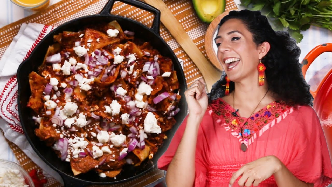 Chilaquiles As Made By Andrea Mares