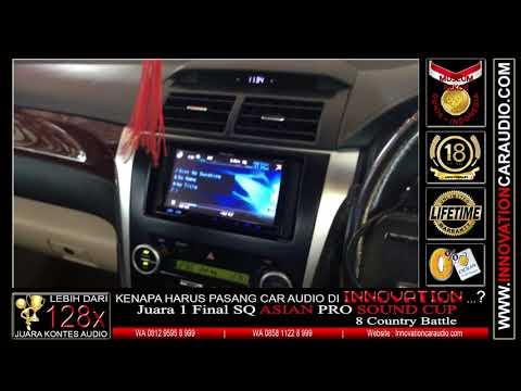 Paket audio mobil Camry | Innovation car audio Jakarta