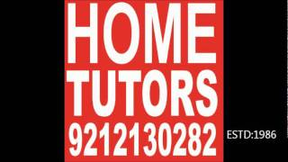 HOME   TUTORS SERVICE (ESTD:1986) @88-02-02-02-82