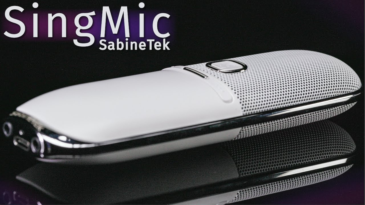 SabineTek SingMic Bluetooth Microphone Review / Test (Gimmick or Legit?)