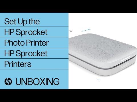 How To Set Up the HP Sprocket Photo Printer   HP Sprocket Printers   HP