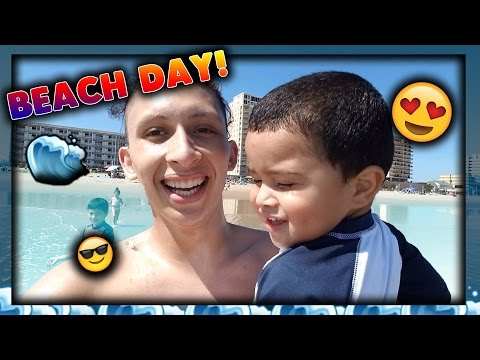 BEACH DAY VLOG!!