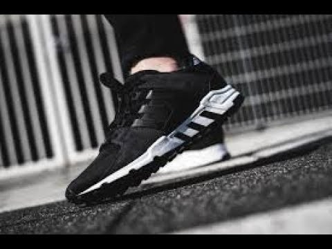 huge discount 8a84a be744 Unboxing Review sneakers Adidas EQT Support RF BY9623