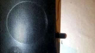 Test bass Home Theather Sony - DAV DZ340K 1000W Rms
