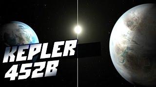 Самая близкая к Земле экзопланета земного типа Kepler 452b