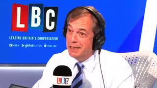 Nigel Farage: The most open political party in Britain - LBC, 14.05.2019